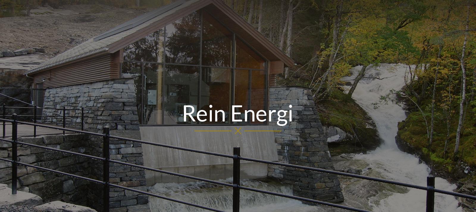 Rådgiver vannkraft, Rein Husebø, Rein Energi